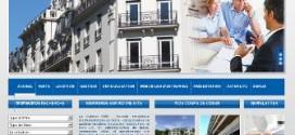 Un agent immobilier à l'agence S.I.A.B. IMMO