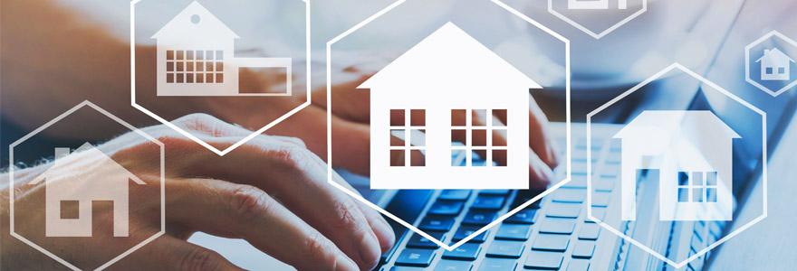 activité immobilière en ligne