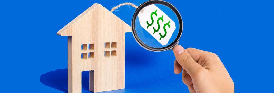 prix d'une maison en vente